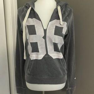 Victoria Secret PINK Grey Hoodie Sweatshirt Size S